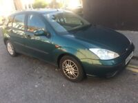 FORD FOCUS MOT 05/2018 TAX READY TO DRIVE GOOD RUNER START EVERY TIME GOOD TYRES