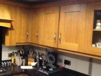 Solid oak kitchen doors, panels, trims etc