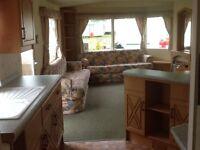 Static two bedroom caravan Arbroath