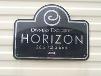 ABI HORIZON 8 BERTH, 3 BEDROOM, 2 BATHROOM STATIC CARAVAN, £12.500 O.N.O