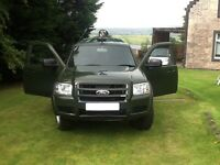Ford Ranger Double Cab 4x4 2.5 TDCI Ex Forestry Commission Specialist Vehicle NO VAT