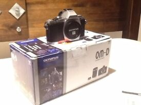 Olympus OMD EM5 - Body - With Accessories