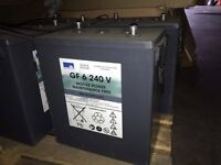 Exide Sonnenschein GEL battery Dryfit Traction Block GF 6 240 V maintenance free