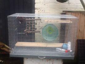 Medium pet cage excellent condition