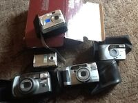 For sale is my collection of digital cameras