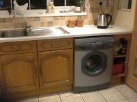 Kitchen units and appliances.