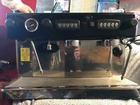 Lightly used commercial coffee espresso machine