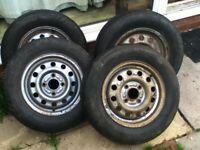 4 Ford Escort Van Wheels