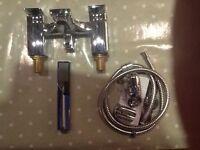Brand new chrome Tavistock Mixer Taps/Shower.