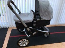 Mothercare Expedior Pram Car Seat Travel System