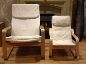 Ikea Poang armchair adults and childrens. Lounge/conservatory