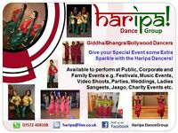 HARIPA DANCE GROUP - Giddha Bhangra and Bollywood Dancers