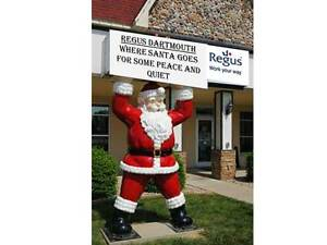 Santa is tired of running his business out of a coffee shop.