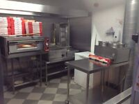 Job lot of fully operational kitchen and chippy equiptment- Fermanagh