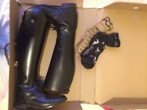 Women's EquiComfort English riding show boots