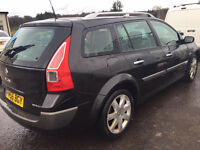 2007 megane estate ,imaculate inside & out m,o,t, may (no advisory)