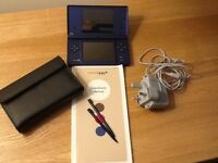 Nintendo DSi. Comes with Instruction Manual, stylus (2) and Charger.