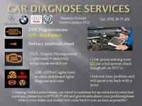 Car diagnose / DPF regeneration / Service light, EML, ABS, AIRBAG reset (BMW, Audi, VW, Mercedes)