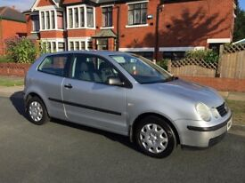 Volkswagen Polo, 2003, Silver, 1.2L *GREAT FIRST CAR*