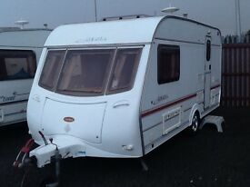 2002 coachman AMARA 450/2 berth end changing room with fitted mover