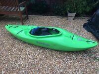 Liquid Logic Trigger Kayak - Good for Rivers Surfing Leisure Small Adults or Children Canoe