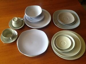 Vintage pastel dinnerware Prospect Launceston Area Preview