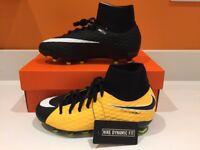 BNIB Nike Hypervenom Phelon 3 Dynamic fit FG Football boots - Sizes 2 / 4.5 UK