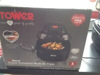 For sale tower actifry in box nearly new I have used it twice