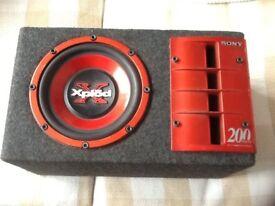 Sony Xplod Subwoofer / Active Amp