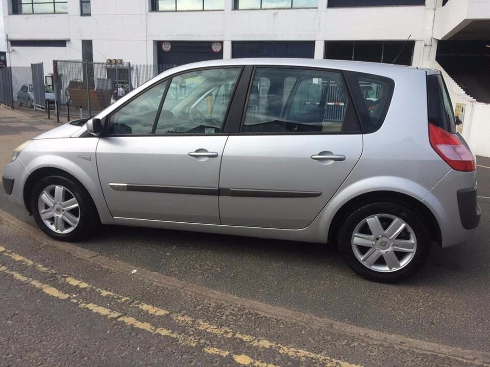 54 Plate Renault Scenic 1 5 Sel Drive Perfect No Problem With It