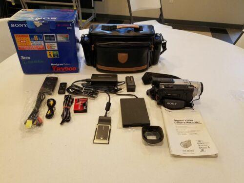 Sony Handycam DCRV-TRV900 Working