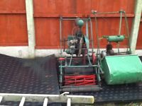 Vintage atco lawnmower