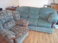 **** FREE **** Sofa and TWO chairs (one pictured)