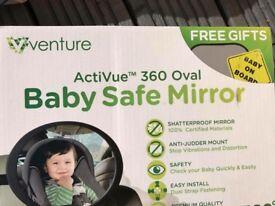 Venture baby safe mirror