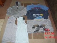 mens clothes size xxl some never worn - collection only from didcot £10 no offers