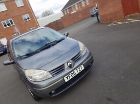 Reanult Grand Scenic 1.6 petrol 7 seater