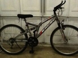 Man or womans bike for sale 25inch wheel