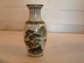 Oriental Vase - hand painted