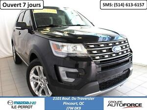 2016 Ford Explorer XLT CUIR TOIT PANO 7 PASSAGERS