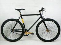 Aluminium single speed fixed gear fixie bike/ road bike/ bicycles + 1year warranty & free service t0