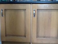 Electrolux under counter intergrated fridge and freezer