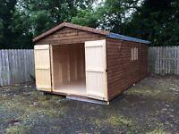 20x10 shed heavy duty
