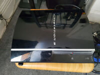 PS3 with 2 controlers and 5 games - Perfect Working Order / Can be seen working