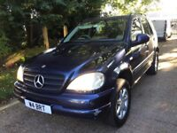 Mercedes Benz ML M CLASS PETROL AUTOMATIC 7 SEATERS MOOT 02/2018 READY TO DRIVE
