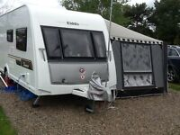 Elddis Avante 564. 2013. 4 berth touring caravan. As new , plus option to buy Extras,