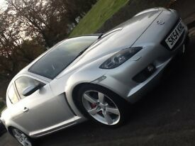2004 MAZDA RX-8 231 COUPE WITH FULL LEATHER AND WARRANTED LOW MILEAGE