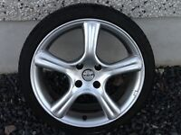 17INCH 4/108 FOX PEUGEOT CITREON ALLOY WHEELS WITH TYRES FIT MOST MODELS