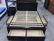 Brand New Quality PU Bed With 4 Big Drawers in Double/Queen Melbourne CBD Melbourne City Preview
