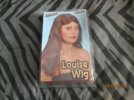 LONG BROWN FANCY DRESS WIG BY SMIFFYS PARTY OR HEN DO WIG