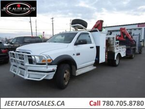 2012 Dodge Ram 5500 SLT4X4 Picker crane with fassi fusa SLT 4X4